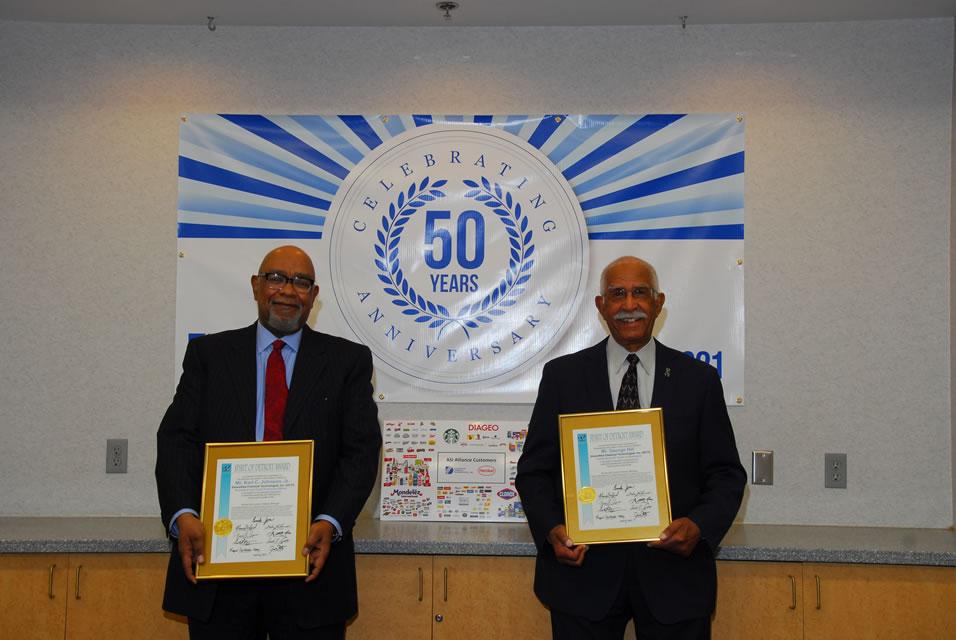 Diversified Chemical Technologies George Hill & Karl Johnson Spirit of Detroit Award
