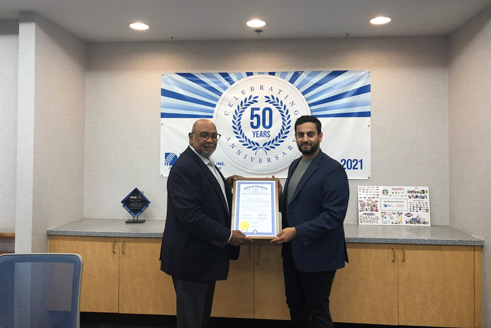 Diversified Chemical Technologies State of Michigan Special Tribute Award